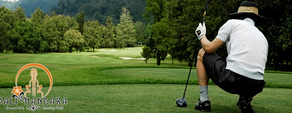 Bali Handara golf course in Bedugul